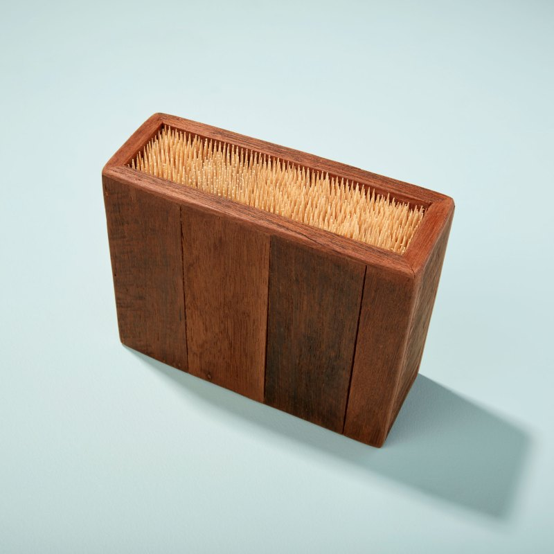 Reclaimed Wood Knife Block, Small