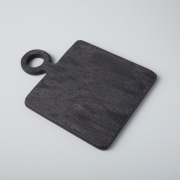 Black Mango Wood Mini Board Square