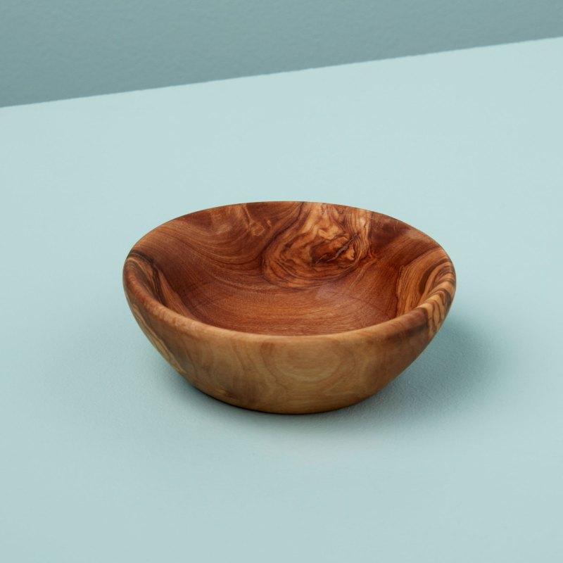 Olive Wood Pinch Bowl