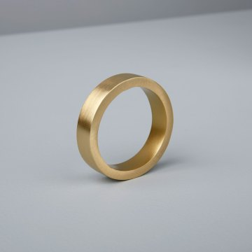 Circle Napkin Ring, Gold