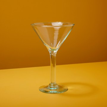 Recycled Martini Glass