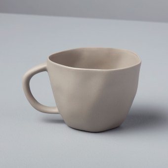 Stoneware Cappucino Cup Slate