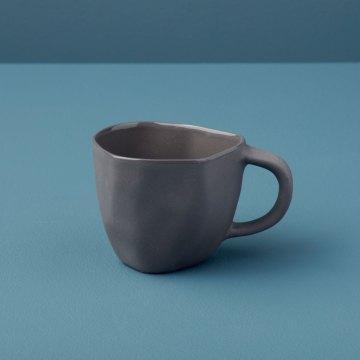 Stoneware Demitasse Cup, Slate