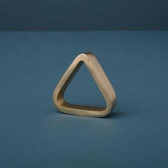 Circle Napkin Ring, Gold