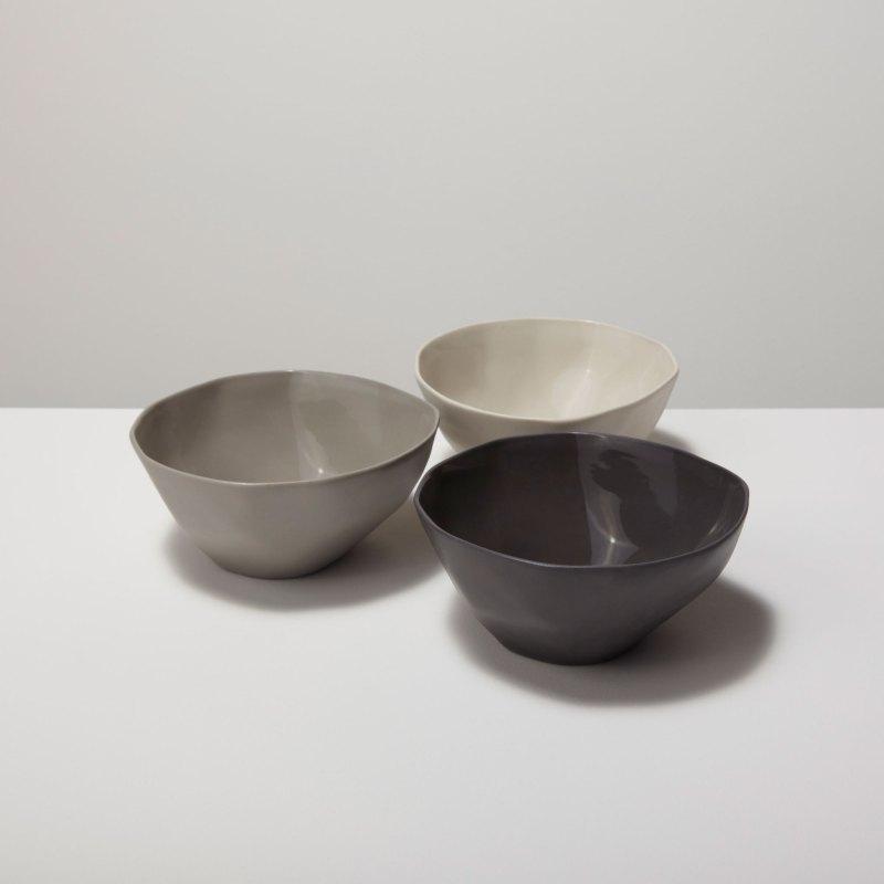 Stoneware Bowl White, Small