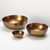Cobbled Antique Bronze Bowl, Medium 2