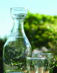 Recycled Glass Ripple Tumbler 2