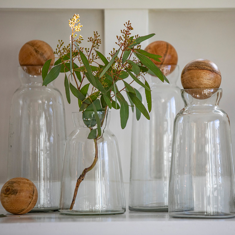 be home material clear glassware b