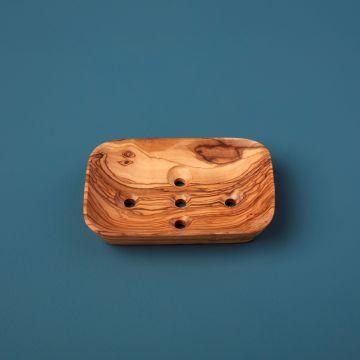 Olive Wood Sponge Holder
