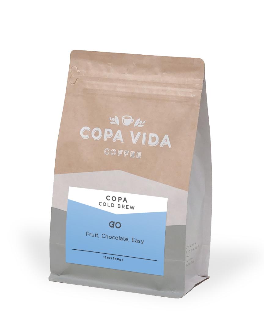 Copa Vida Cold Brew – 12oz Bags