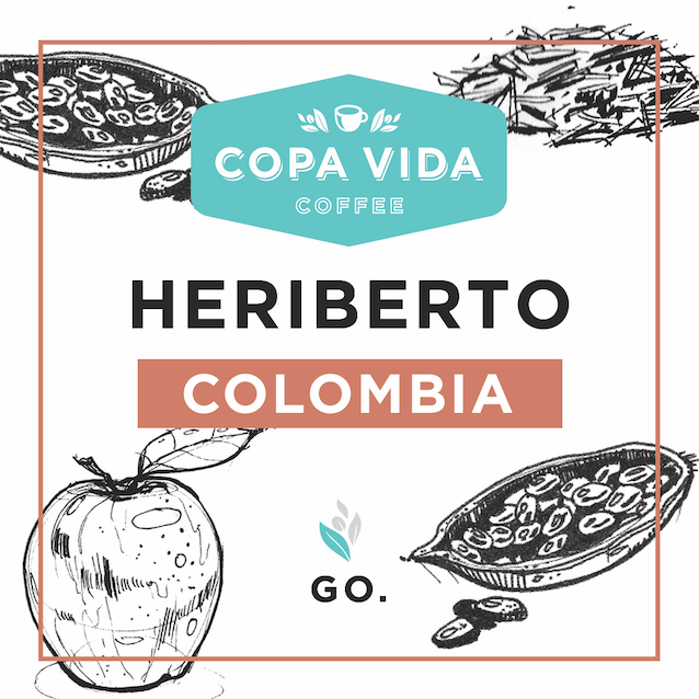 Heriberto, Colombia – 3lb Bag