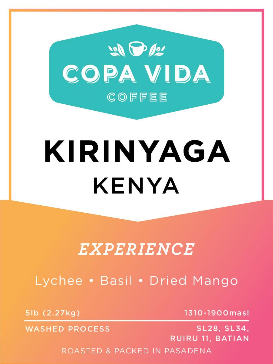 Kirinyaga, Kenya – 5lb Bag