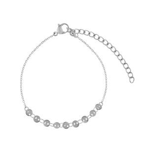 Bracelet coins silver