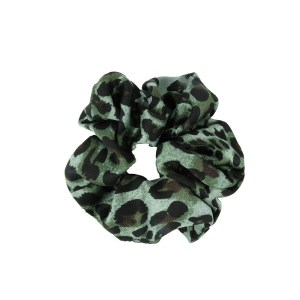 Scrunchie leopard green