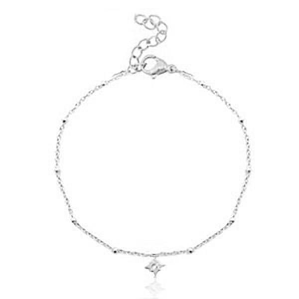 Bracelet sparkling star silver
