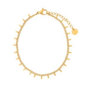 Bracelet bars gold
