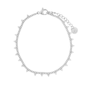 Bracelet triangles silver