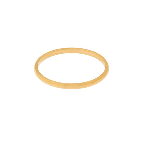 Ring basic round gold