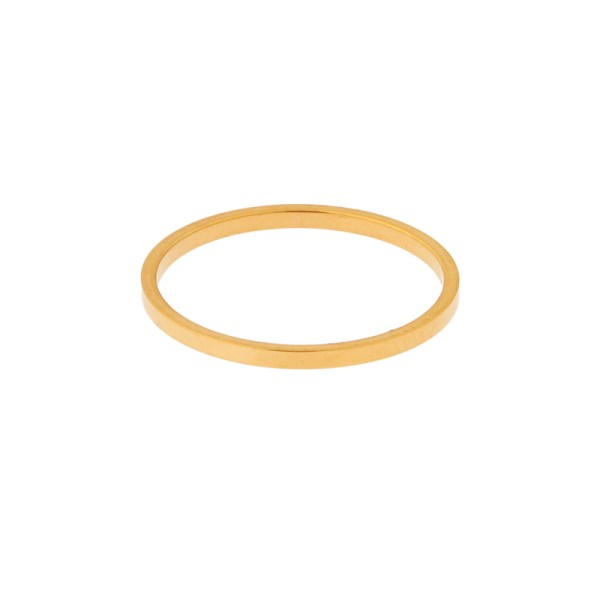 Ring basic square gold