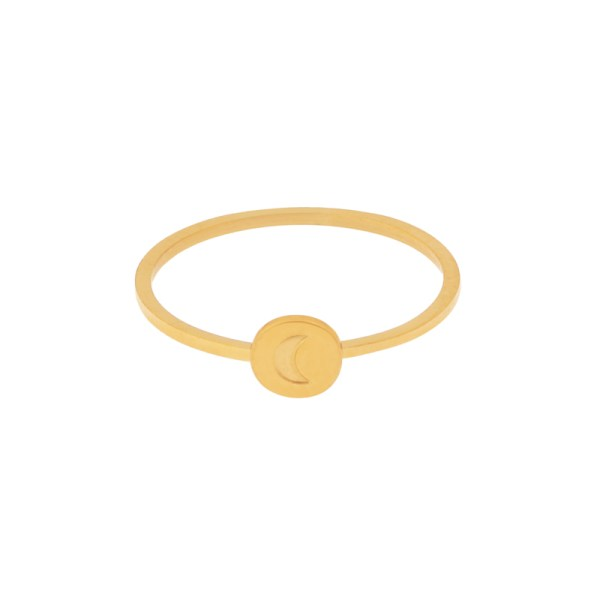 Ring round moon gold