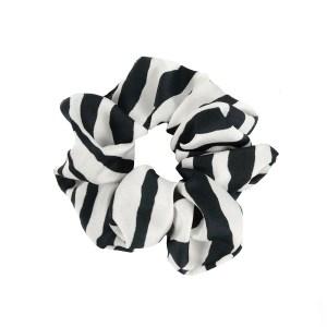 Scrunchie zebra white