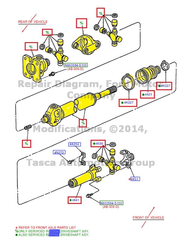 NEW OEM FRONT AXLE DRIVE SHAFT 20052010 FORD F250 F350 F450 F550 SUPER DUTY 4WD | eBay