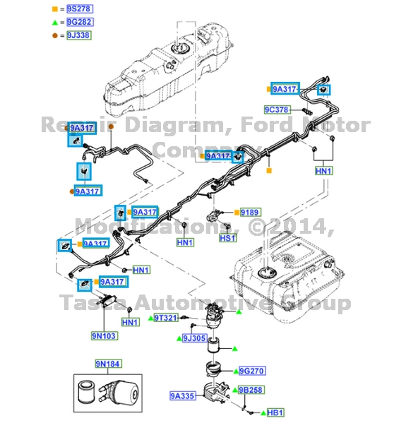 NEW OEM FUEL LINE CLIP FORD F250 F350 F450 F550 SUPER DUTY F53 #BC3Z9A317C | eBay