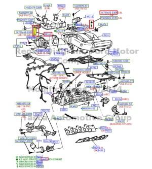 NEW OEM EGR VACUUM CONTROL SHORT HOSE 42MM ID 95MM E150 250 F150 HERITAGE  SVT