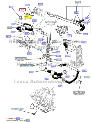 200 Ford Taurus Cooling System Diagram  Great Installation Of Wiring Diagram