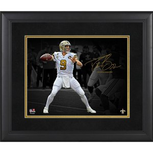 New Orleans Saints Drew Brees Fanatics Authentic Framed 11