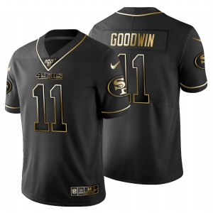 San Francisco 49ers #11 Marquise Goodwin Men's Nik wholesale authentic stitched jerseys