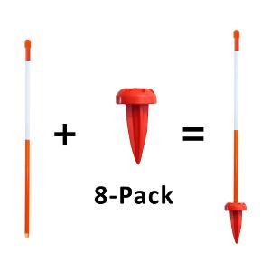 Driveway Marker Plus 8-Pack