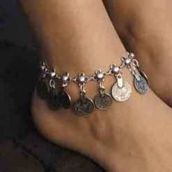 Wholesale Coin anklet