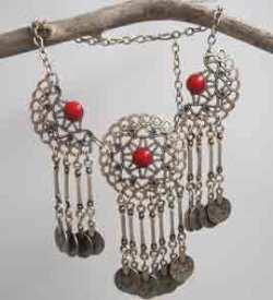 Ethnic Turkish necklace.