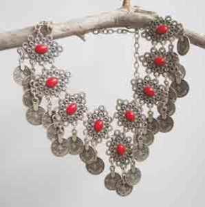 Turkish ethnic necklace.