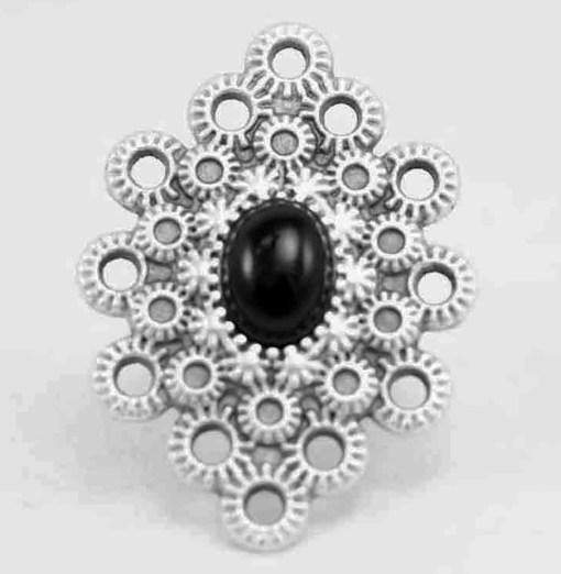 Black rock ring