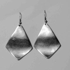 Shiny sheet earrings