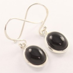 black onyx wholesale earrings