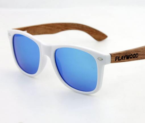 Ice blue lens sunglasses