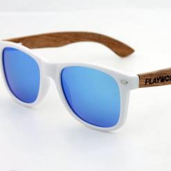 Ice blue lens sunglasses