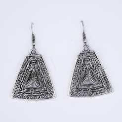 Silver Turkish Earrings