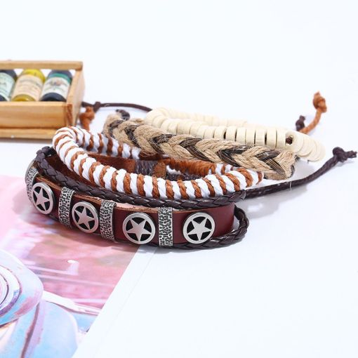 Wholesale retro layer bracelet