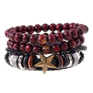 Star multi layer bracelet