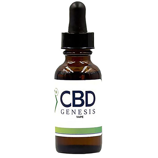 CBD Genesis Vape available in 4 strengths