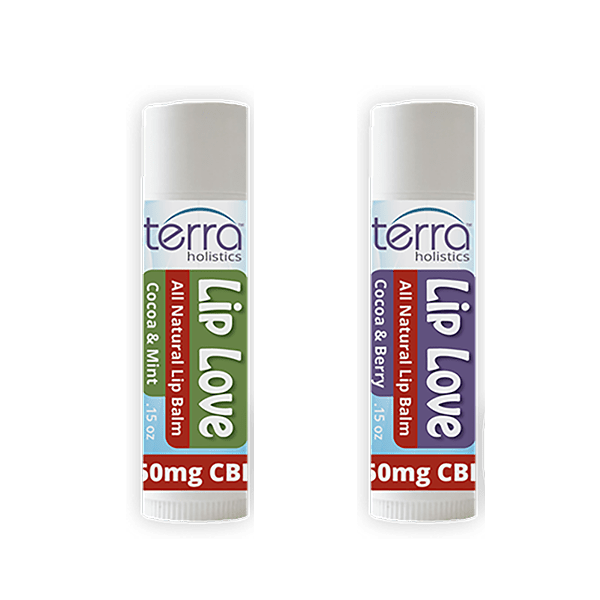 Terra Holistics CBD Lip Balm 2 Group