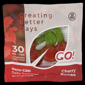 Creating Better Days Gummies Cherry Bombs