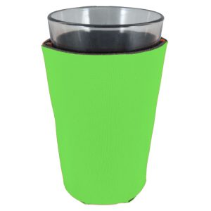 blank foam pint glass koozie