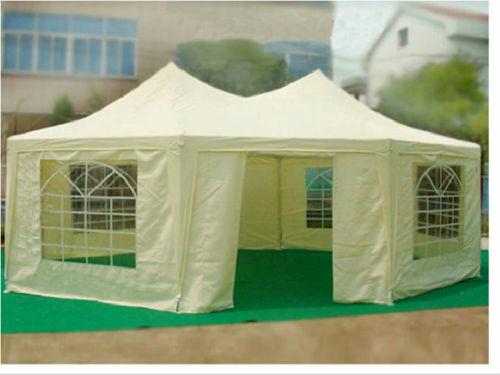 22 X 16 Heavy Duty Party Tent Gazebo 4 Colors