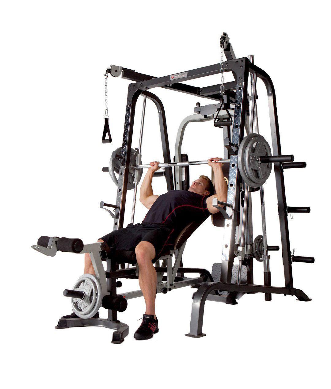 Deluxe Diamond Elite Smith Cage Total Body Gym