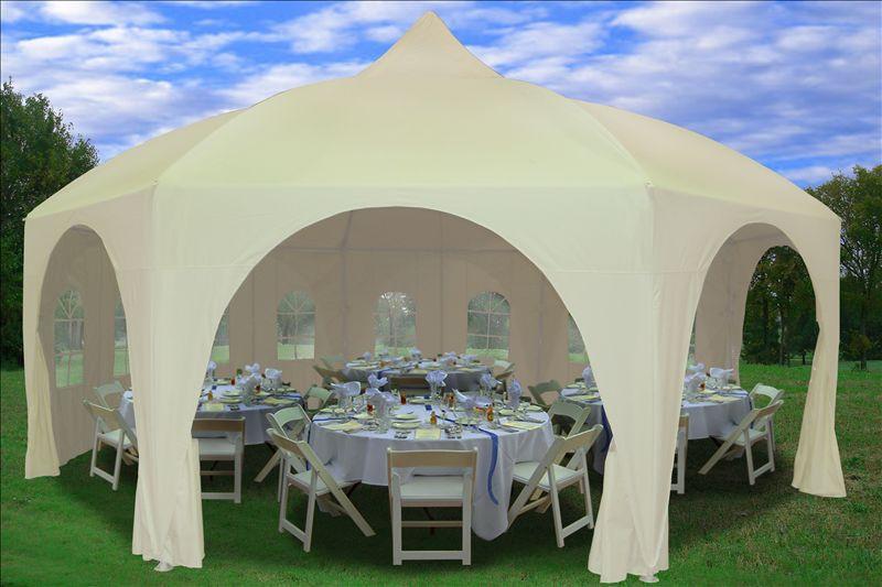 20 X 20 Octagon Tent Canopy Gazebo